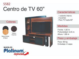 Modular Centro Tv 60 - Envio Sin Cargo Al Gran Mza