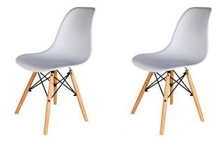 Sillas Eames X2 De Comedor Living Nordicas Modernas Homekong