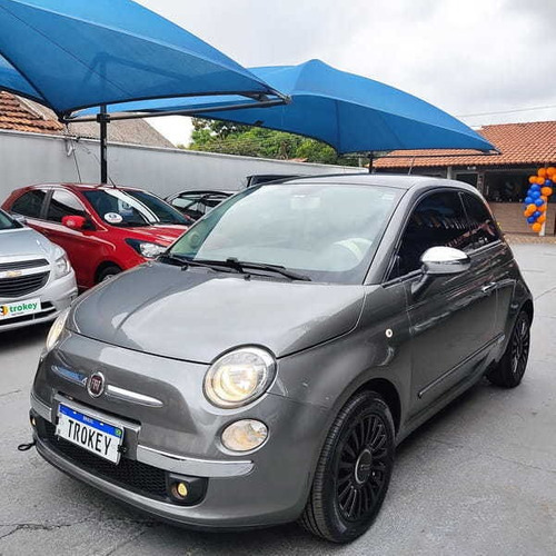 Imagem 1 de 13 de Fiat 500 Lounge 1.4 (gas) Imp 2p