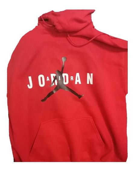 Sudadera Air Jordan Hoodie Capucha Con Cangurera