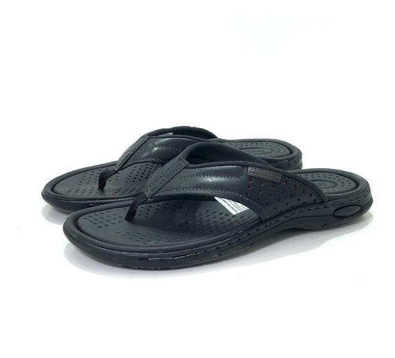 Ojota Hombre Cuero Pegada 132702 El Mercado De Zapatos!!