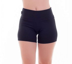 Short Legging Feminino Academia De Cotton Direto Da Fábrica