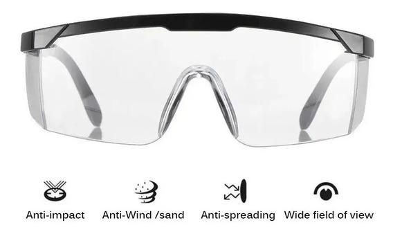 Lentes Goggles De Seguridad Uso Rudo Gafas ( 12 Piezas )