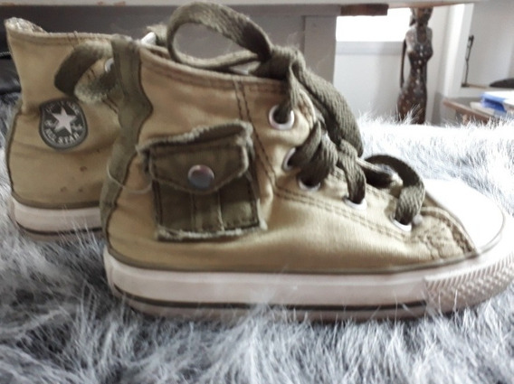 Zapatillas Botitas Converse All Star Nene Numero 21