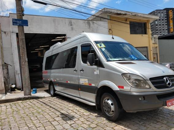 Sprinter Executiva 18 Lugares,único Dono -515 Mercedes Benz