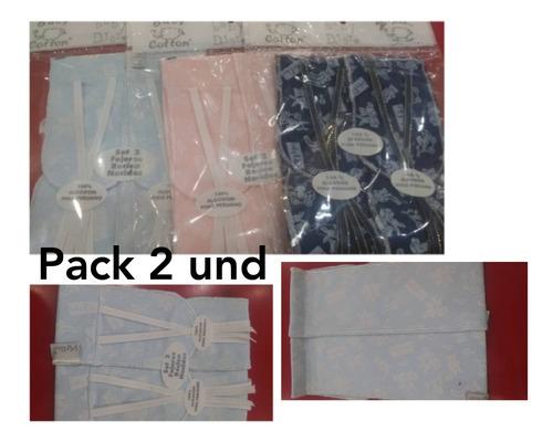 Fajitas Para El Ombligo Del Bebé. Pack 2 Und. Algodon