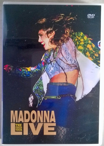* Madonna The Virgin Tour D*v*d Frete Gratis