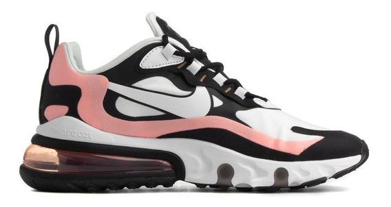 Tenis Nike Airmax React 270 Branco/preto/rosa Nº36 Original