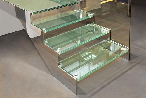 Escaleras De Cristal Templado