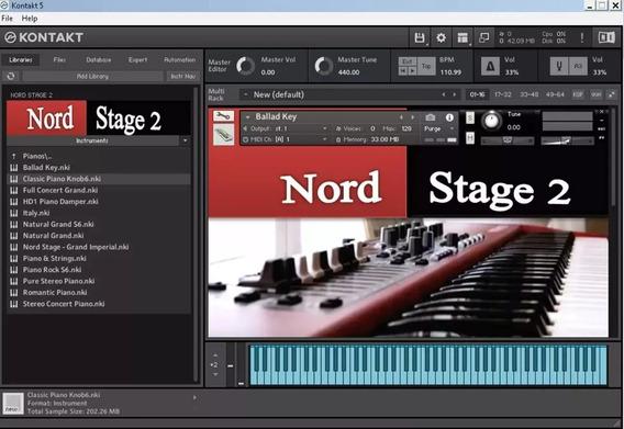 Nord Stage 2 Para Kontakt