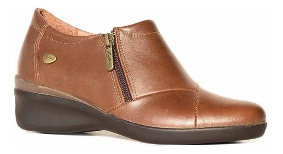 Zapato Cuero Mujer Zapatilla Cavatini Confort - Mczp05110