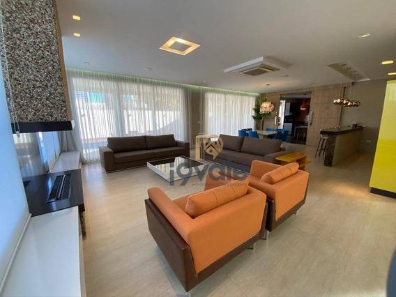 Casa De Luxo À Venda, Porteira Fechada! Em Condomínio No Jardim Aquárius Em Sjcampos-sp - Ca1795