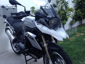 Bmw 1200 Gs, Equipada, Con Defensas, 3 Maletas Touratech