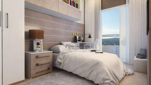 Imagem 1 de 18 de Apartamento Com 2 Dormitórios Sendo 1 Suíte,  À Venda, 79 M² Por R$ 548.437 - Vila Guilhermina - Praia Grande/sp - Ap0820