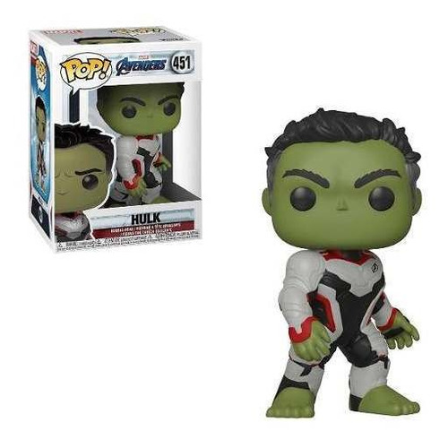 Muñeco Funko Pop Hulk 451 Marvel Avengers Original