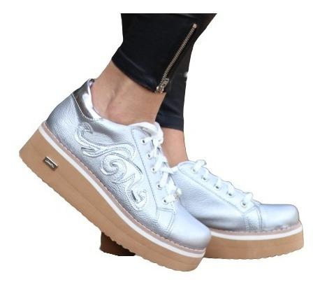 Zapatillas Altas De Mujer, Plataforma Goma Eva - Nadeska