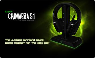 Auricular Razer Chimaera Inalambrico Pc Xbox Ps4 Gamer