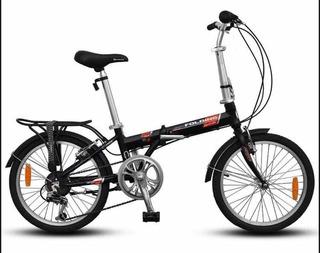 Bicicleta Aurorita De Aluminio Folding Town La Plata