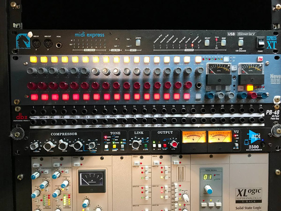 Summing Mixer Neve 8816 16x2, Ssl Api Manley Baixei