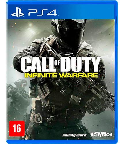 Call Of Duty Infinity Warfare Ps4 Mídia Física Jogaço D Tiro