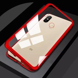 Funda Magnetica Metalica Xiaomi Pocophone F1 Baseglass Roja