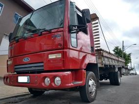 Ford Cargo 712 3/4 2011 Com Carroceria De Madeira