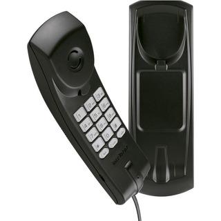 Telefone Gôndola Preto Intelbras Tc 20 Slim Mesa Parede Fl