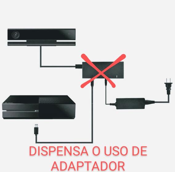 Kinect Adaptado Para Uso No Xbox One S (slim), Ou Xbox One X