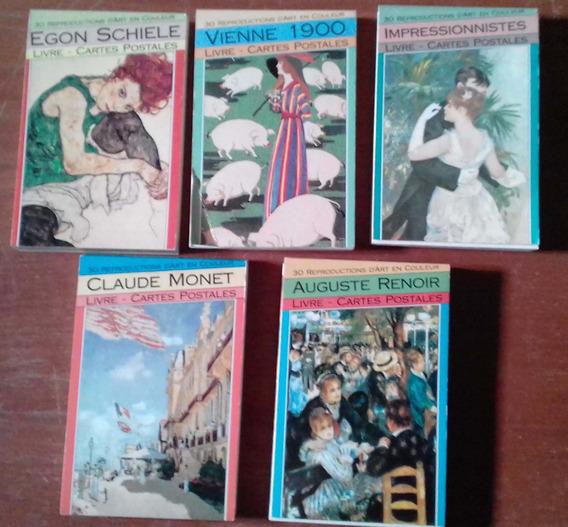 Lote De 150 Postales De Arte Reproducción Obras Renoir Monet