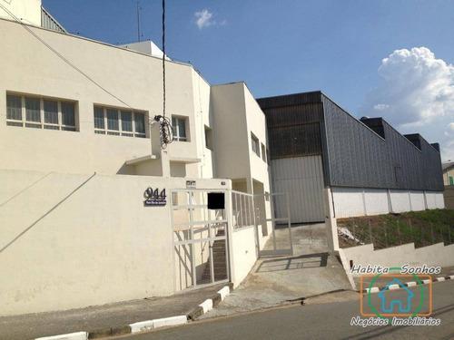 Galpão Industrial Para Venda E Locação, Chácara Do Solar I (fazendinha), Santana De Parnaíba. - Ga0009