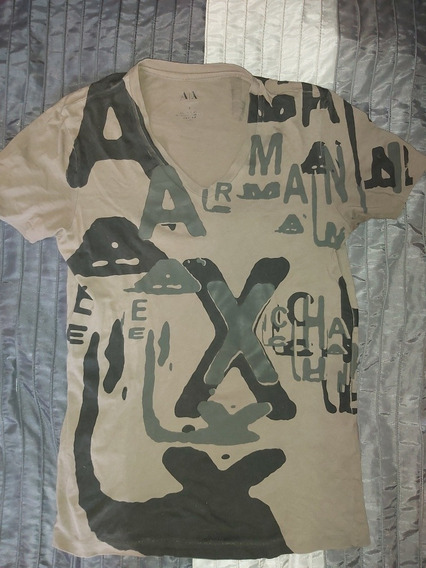 Playera Armani Exhange Ax Original