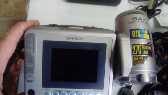 Camara Filmadora Sharp Modelo Vl-e665 Funcionando
