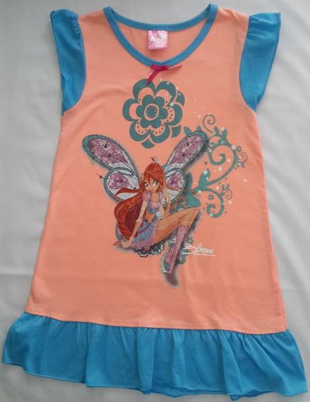 Vestido Winx Club Bloom Original Talla 4 Como Nuevo!!!