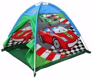 Casita Carpa Infantil Autos Modelo Car Racing Marca Iplay