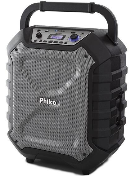 Caixa Acústica Conexão Bluetooth Preto Philco Bivolt Pcx6000