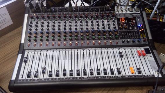 Console Mesa De Audio/som Shamsonic 12 Canais Com Rec