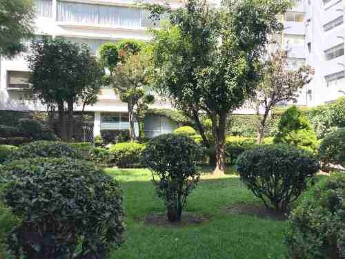 Bonito Departamento Con Grande Jardin En Colonia Del Valle