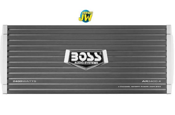 Potencia Boss 2400 Watt 4 Canales + Control De Sub 900 Rms