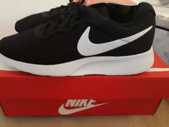 Zapatillas Deportivas Nike Tanjun Negras Mujer Talle 40