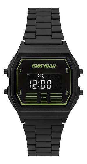 Relógio Mormaii Mobj3715a4p Preto - Cor: Preto - Tamanho: Ún