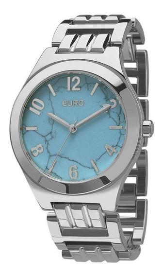 Relógio Euro Feminino Turquesa Eu2033ah/3a