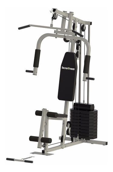 Multi Gimnasio Multigym Reforzado Con 50kg Pesas Incluidas