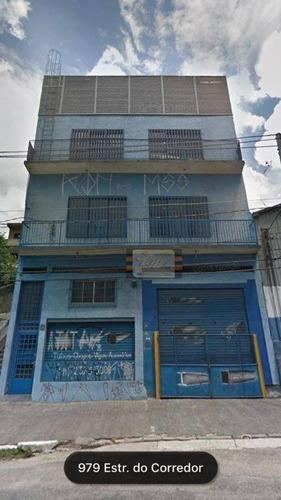 Prédio À Venda, 981 M² Por R$ 1.500.000 - Parque Panamericano - São Paulo/sp - Pr0006