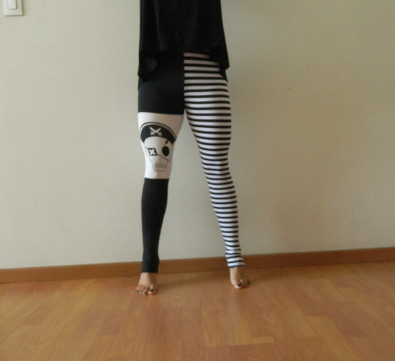 Leggings Calavera Pirata