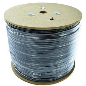 Cable Uso Rudo St 2x12 Negro 100% Cobre 600v Nom 500m Cdc