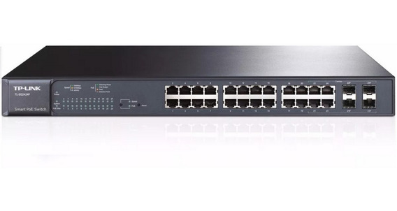 Switch Administrable Poe Tp-link Tl-sg2424p 24p + 4 Sfp Giga