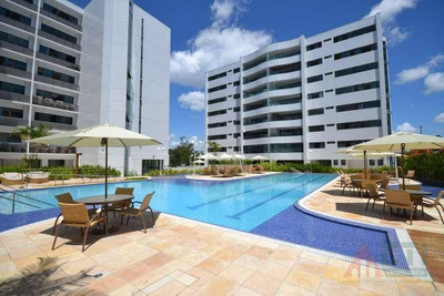 Apartamento Com 4 Dormitórios À Venda, 158 M² Por R$ 850.000 - Apipucos - Recife/pe - Ap1015
