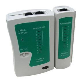 Testador De Cabo De Rede Conector Rj45 /rj11 Rede Telefonia
