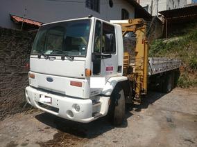 Caminhão Ford Cargo 1317 4x2 (toco) 2002/2003 Com Munck