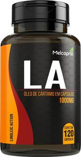 Oleo De Cartamo La 120caps 1000mg Termogênico Nutry Maxx